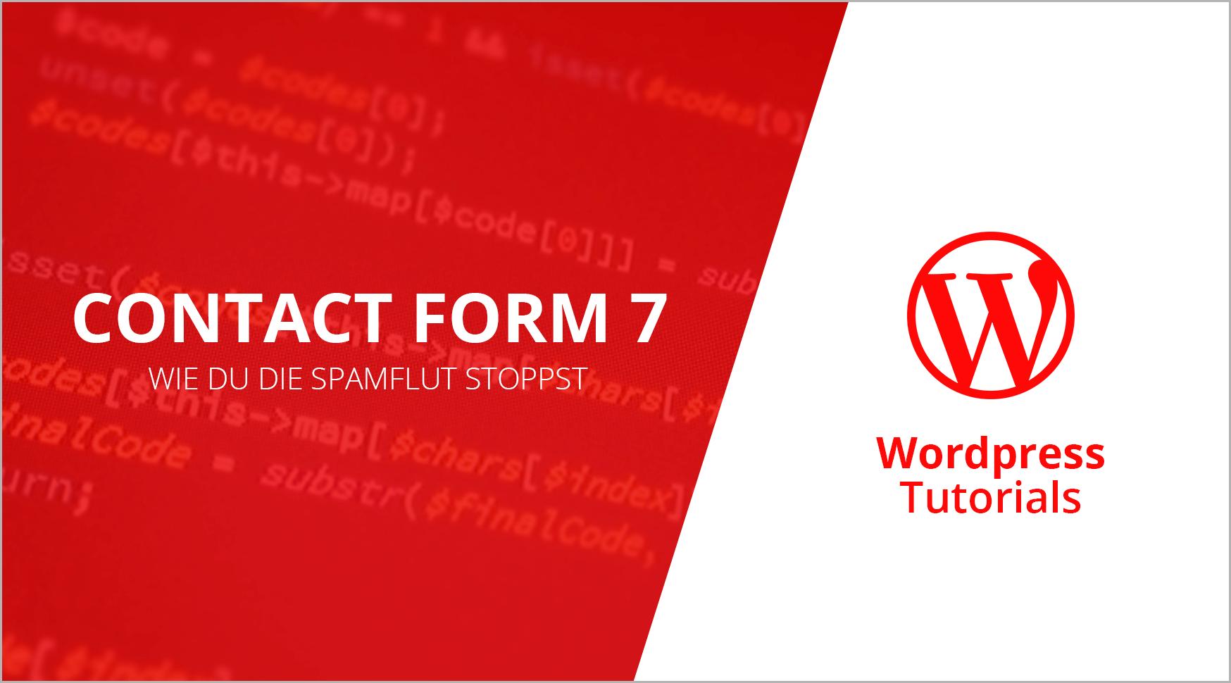 contact form 7 wordpress