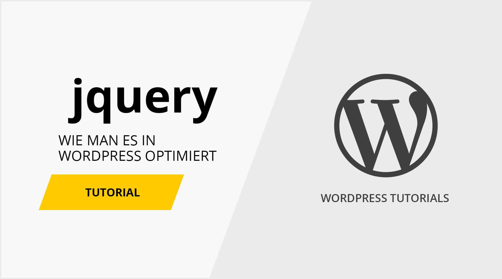 jquery tutorial wordpress