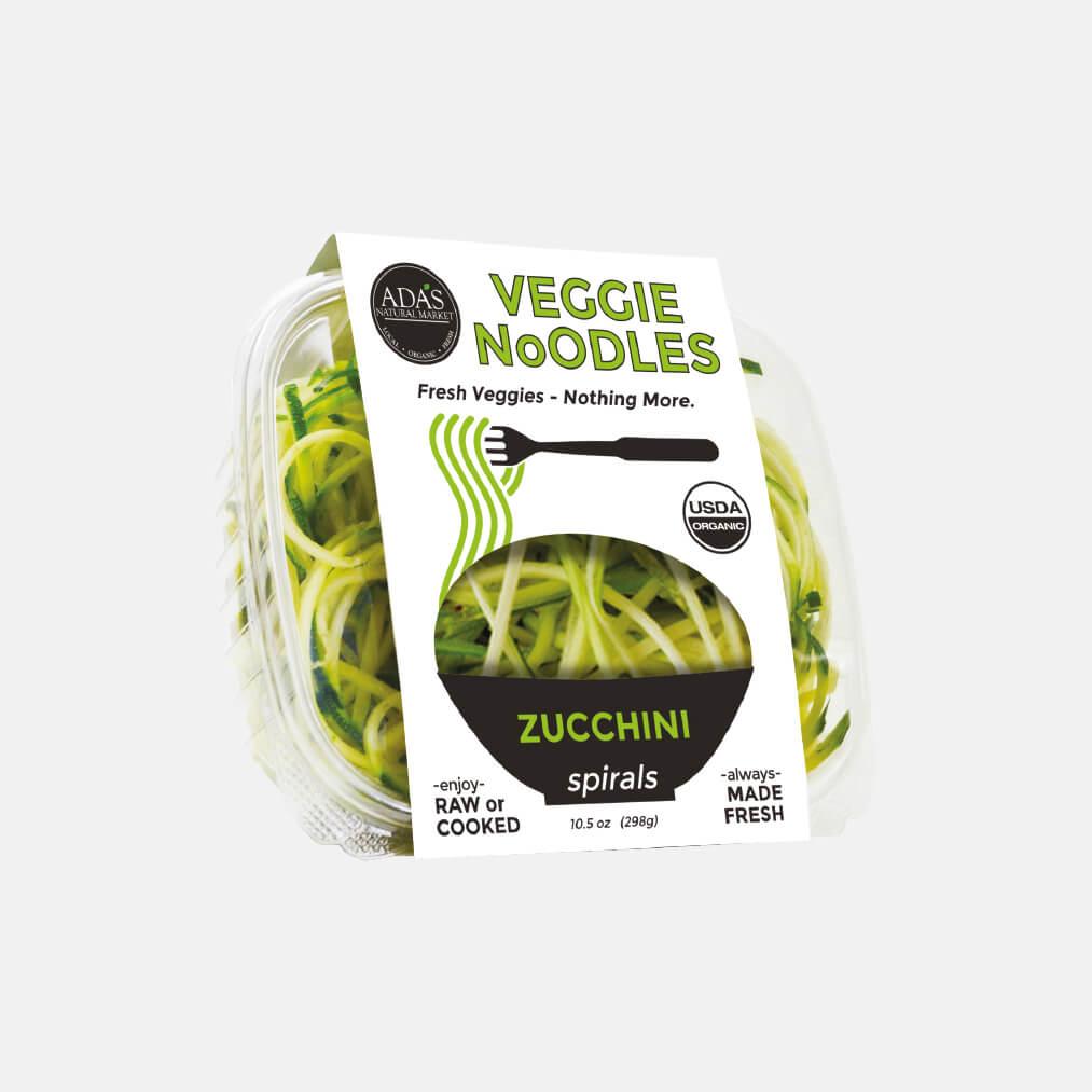 Portfolio Ada's Natural Market Veggie Noodles